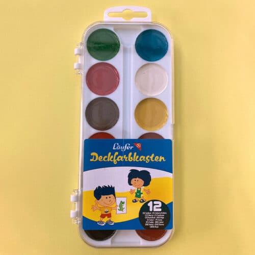 Wasserfarben-Kasten