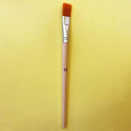 Flachpinsel, Gr. 12
