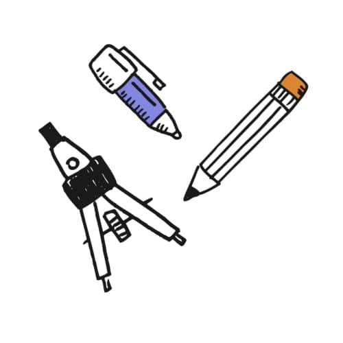Schreiben, Zeichnen